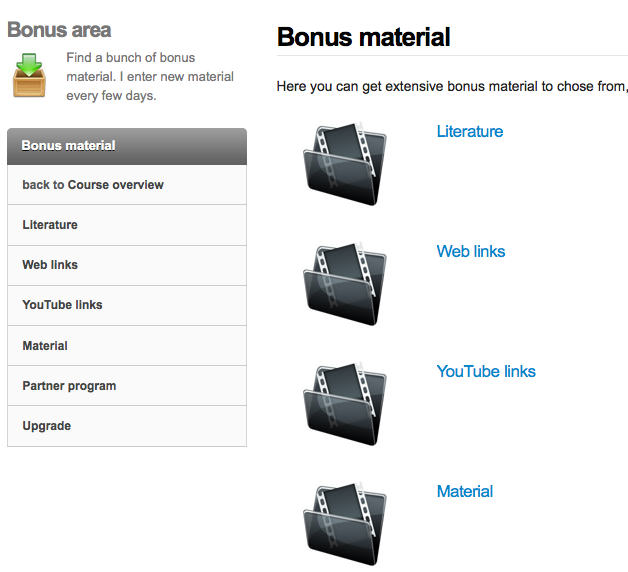 Bonus material Freestyle Optimizer