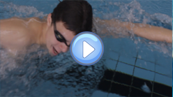 Breathing and head position during the crawl stroke