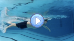 Full length Freestyle swim video