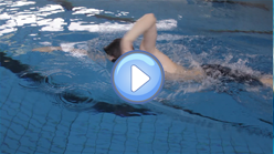 High elbow during the over water phase