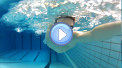 Shoulder rotation during the crawl stroke